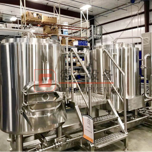 Combined 500L Automatic SUS304/316 Electric Heating 2-vessels Beer Brewhouse Brewery Equipment
