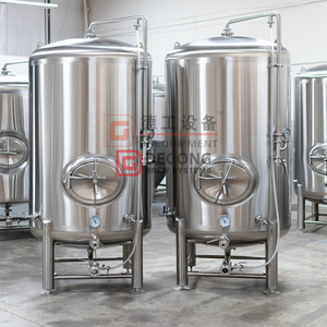 1000L commercial industrial stainless steel conical insulated beer service tank for sale