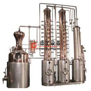 Mainly promote 600L still distillation equipment Micro industrial distiller column alcohol for sale
