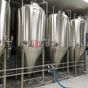500L1000L Stainless Steel Fermentation Tank Beer Fermenting Equipment Turnkey Project for Sale