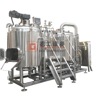 5BBL micro brewery brewhouse system custom-made for European market to brewing craft beer
