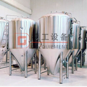 20BBL DEGONG Beer Making Machine Suppliers Double Wall Cooling Fermentation Vessel for Sale