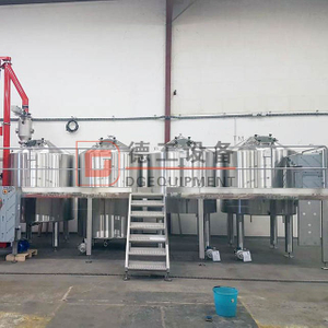 4000L Large Brewery System Turnkey Professional Craft Brewery Equipment for Sale