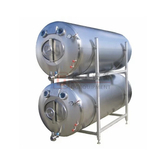 Stainless steel Horizontal Lagering Tank brewery equipment stacked 7-30bbl available for sale